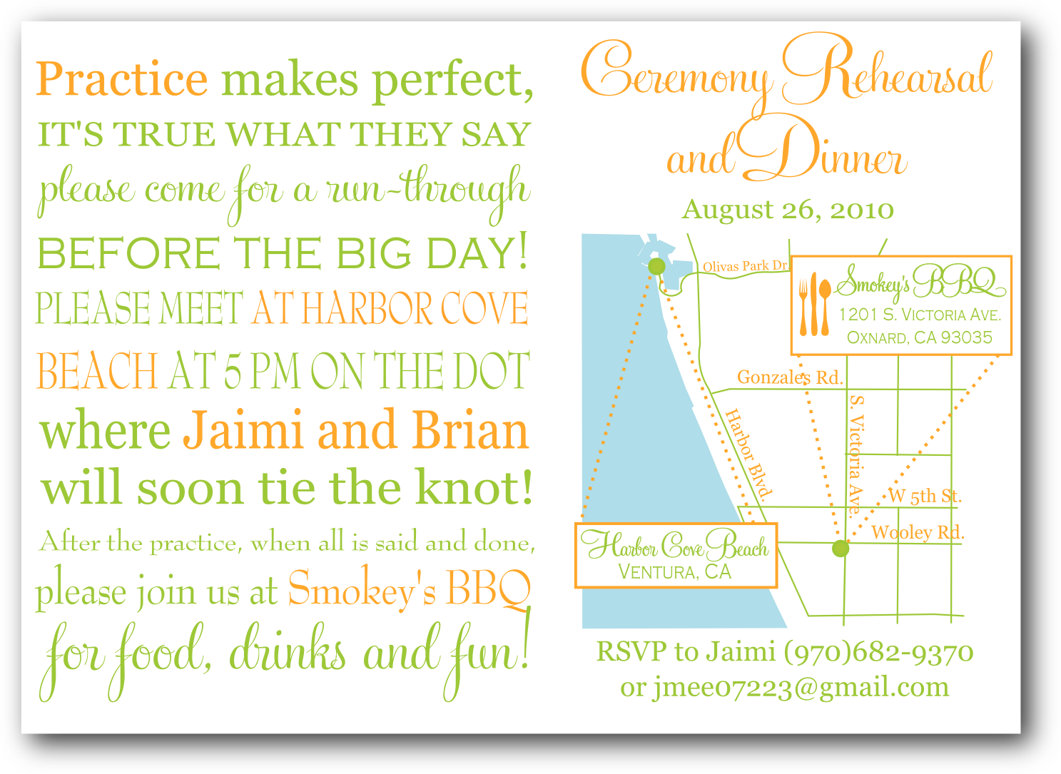 Unique Rehearsal Dinner Invitation Wording