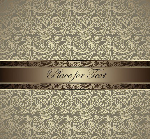 Vector Elegant Invitation Design