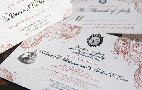 Victorian Wedding Invitation Wording