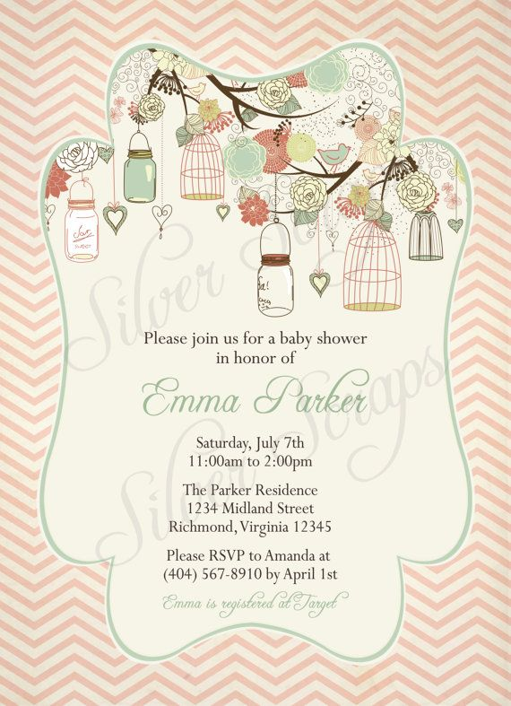 Vintage Bridesmaid Luncheon Invitations