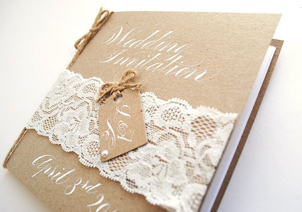 vintage lace printable wedding invitations - Wedding Invitations Vintage