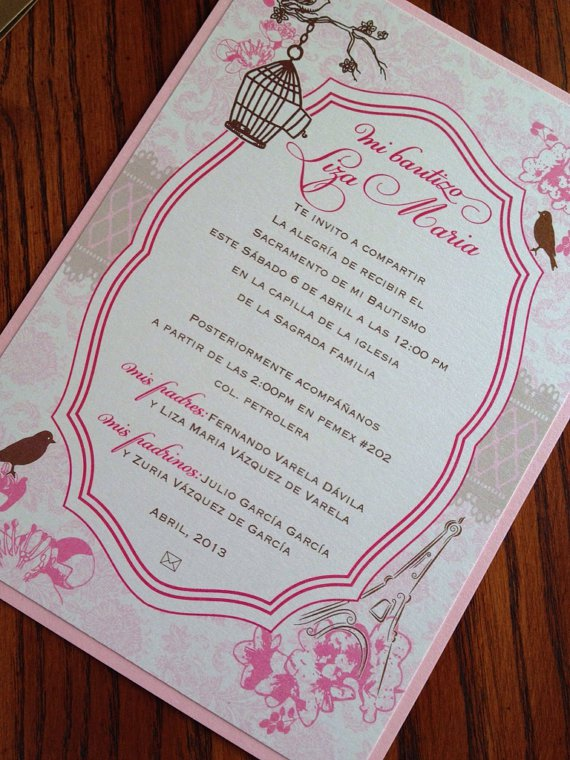 Vintage Quince Invitations