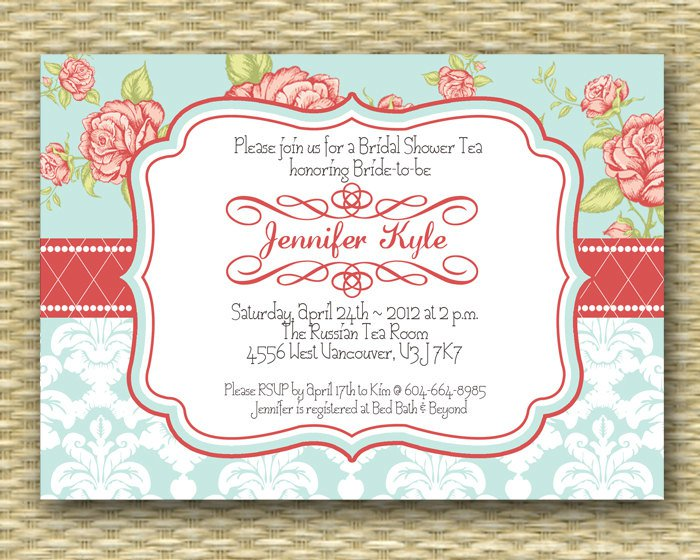 Vintage Invitation Template Vintage Flourishes Wedding Invitation