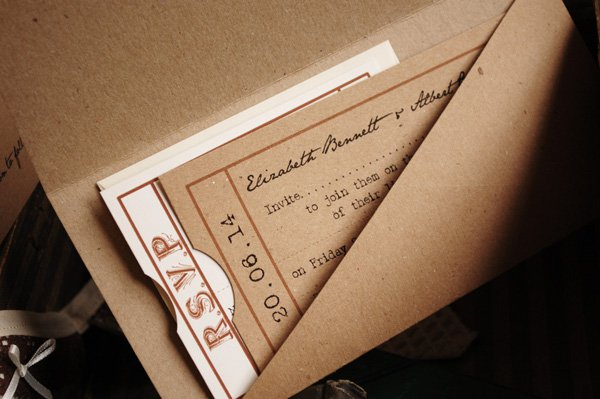 Vintage Winter Wedding Invitations Uk