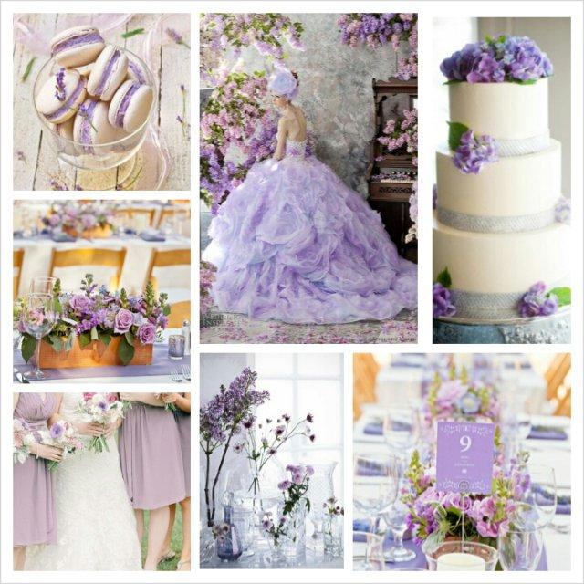 Violet Wedding Invitations