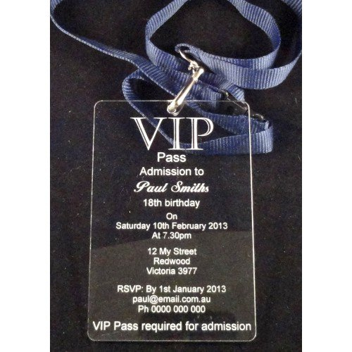 Vip Event Invitation
