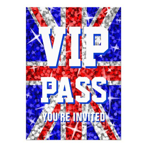 Vip Party Invitations Uk