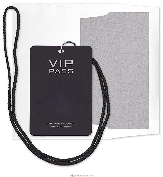 Vip Pass Party Invitations Free