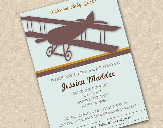 Walgreens Baby Invitation Card