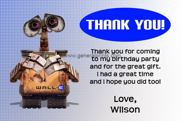 Wall-e Birthday Invitations Printable