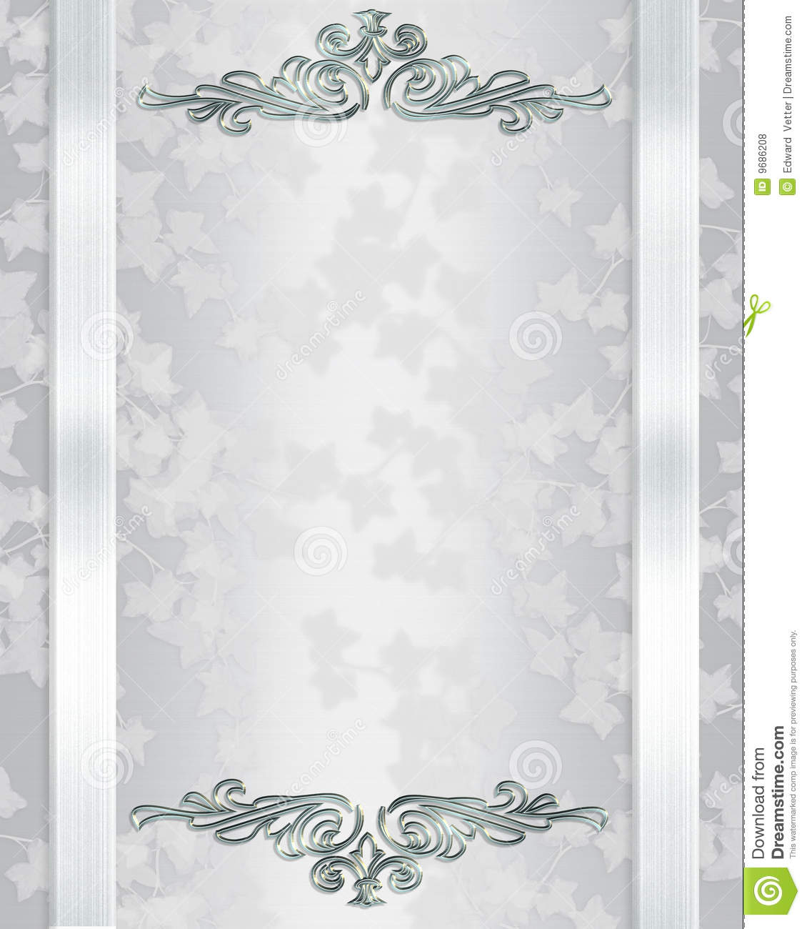 Wallpaper Wedding Invitation