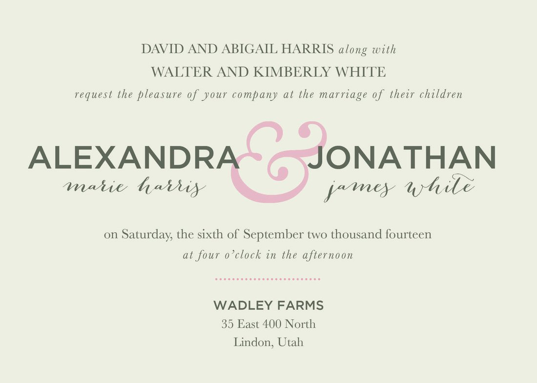 Invitation Wording For Wedding Reception: Dinner Reception Invitation Wording