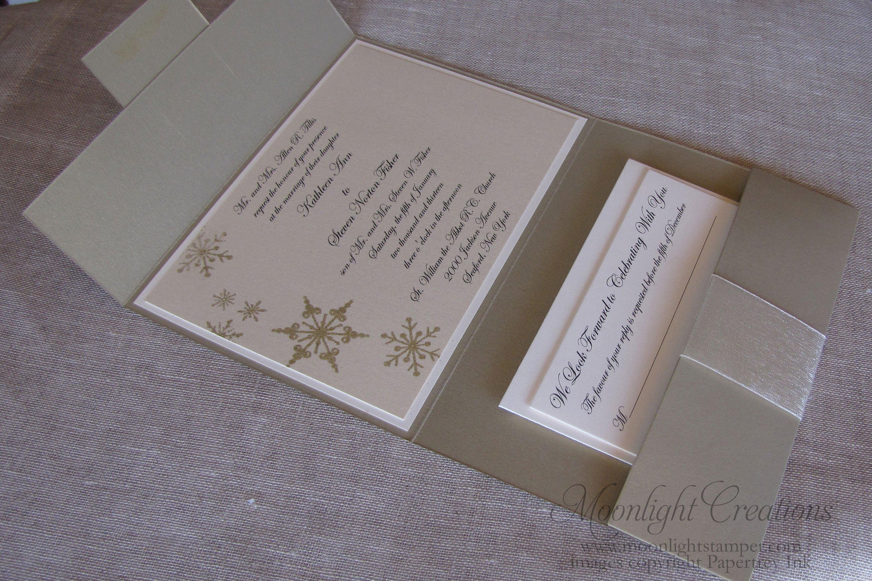 Wedding Invitation Cardstock