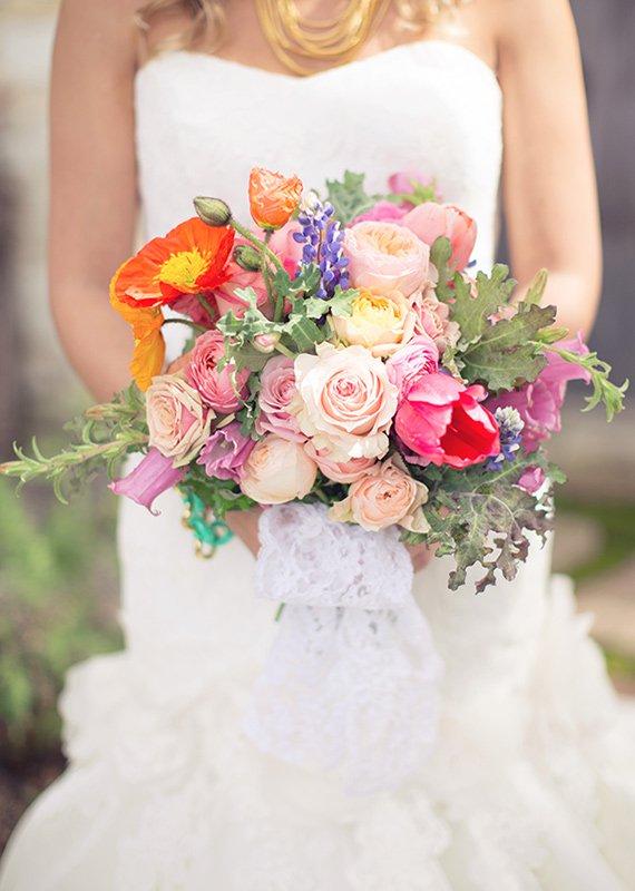 Wedding Invitation Summer Bouquet