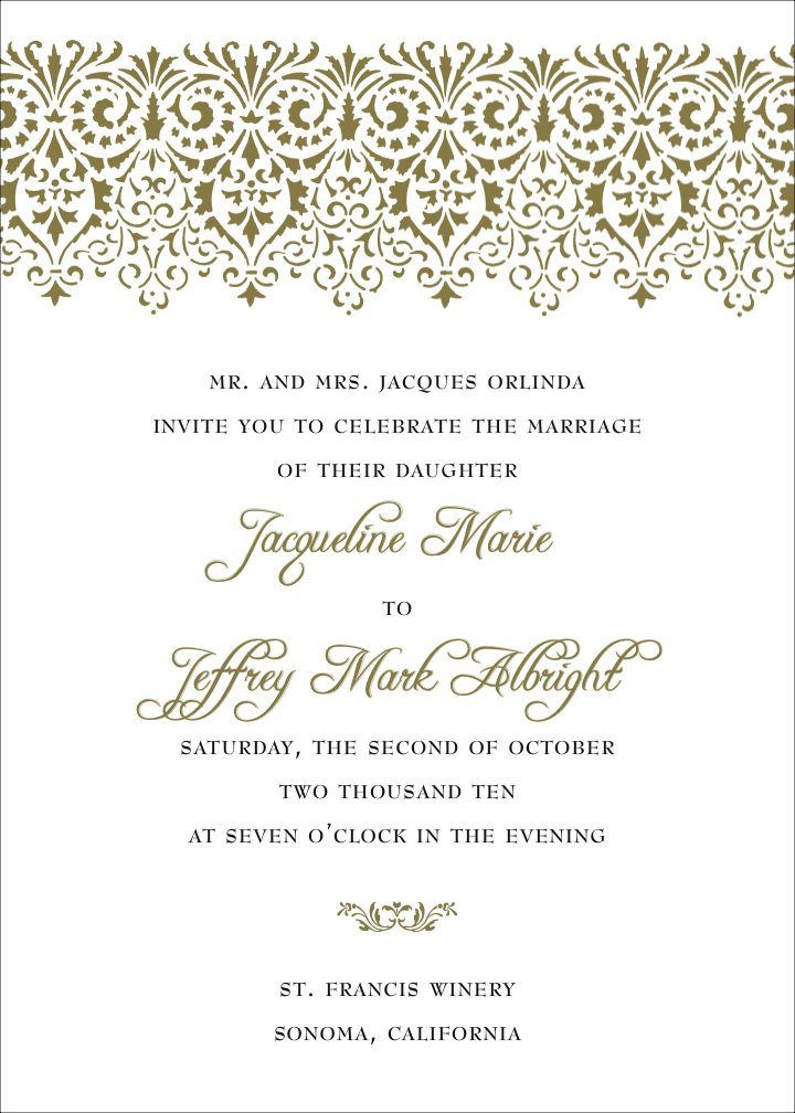 Wedding Invitation Wording And Quotes