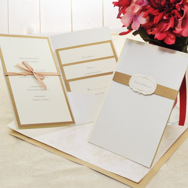 Wedding Invitations Print At Home Kits