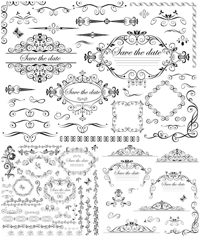 Wedding Invitations Svg Files