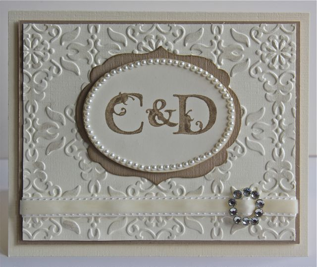 Wedding Invitations Using Stampin Up Products
