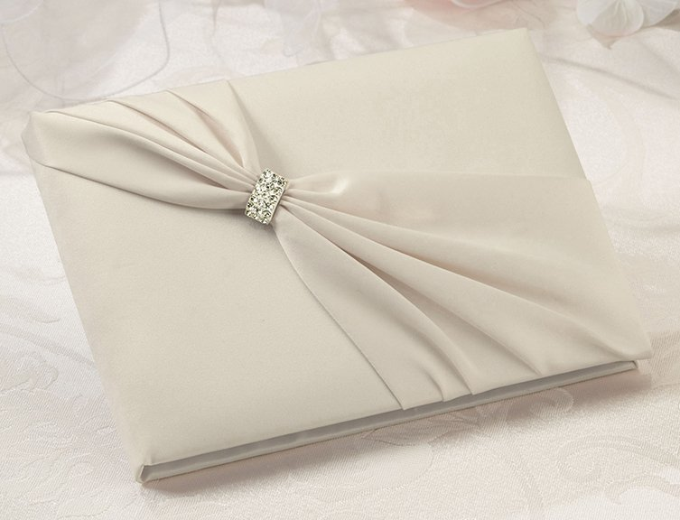 Wedding Invitations With Ribbon And Rhinestones