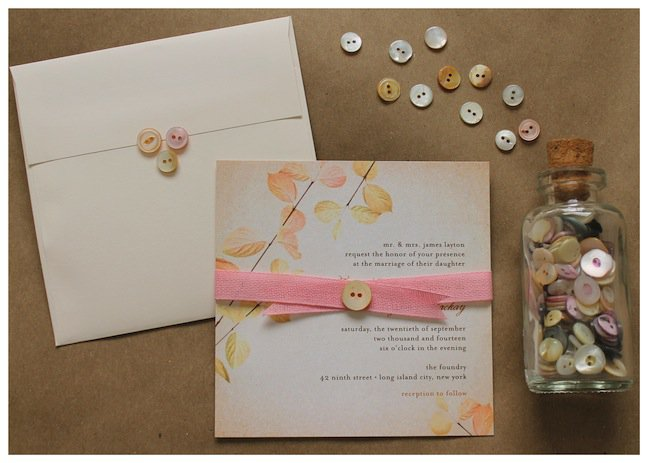 Wedding Paper Divas Pocket Invitations