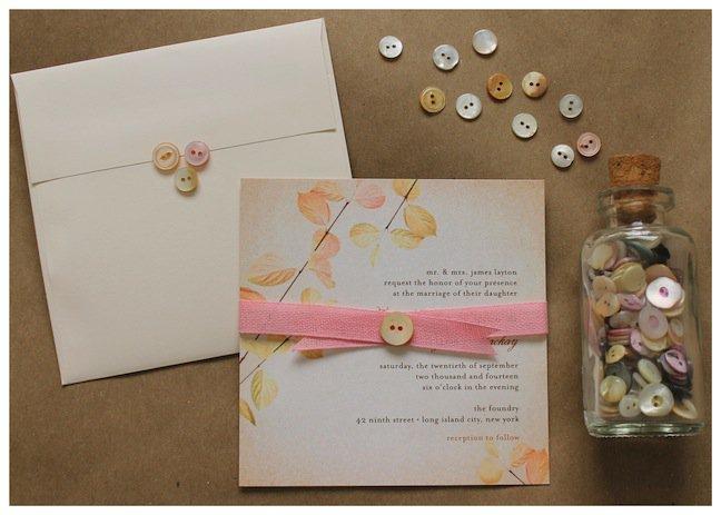 Wedding Paper Divas Pocket Invitations