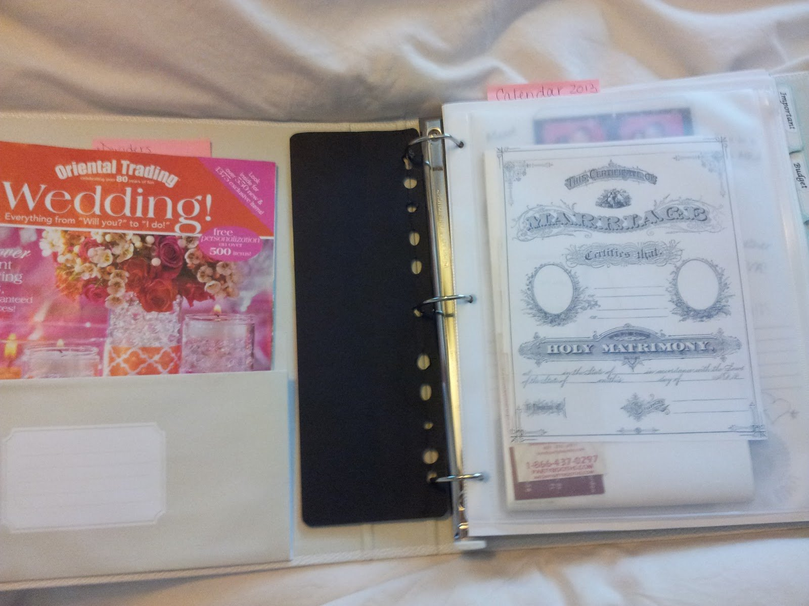 Wedding Planner Book Free Printable