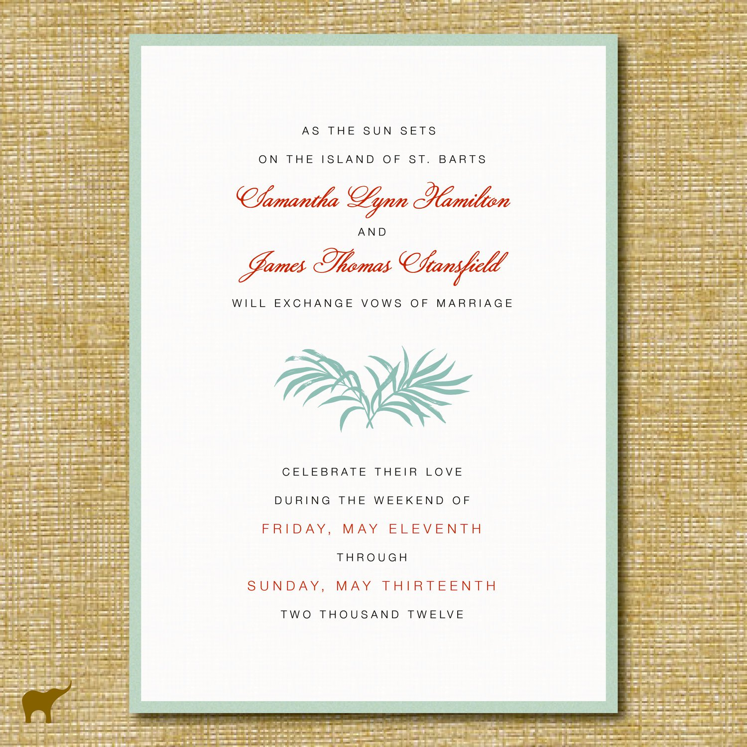 wedding reception only invitation wording examples 1500 x 1500 - Wedding Reception Only Invitations