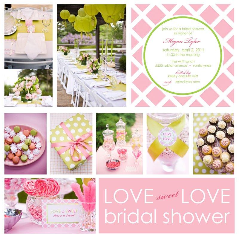 Western Themed Bridal Shower Invitations