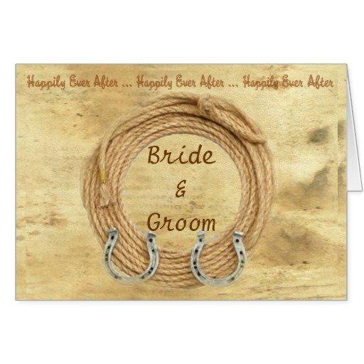 Western Wedding Invitation Ideas