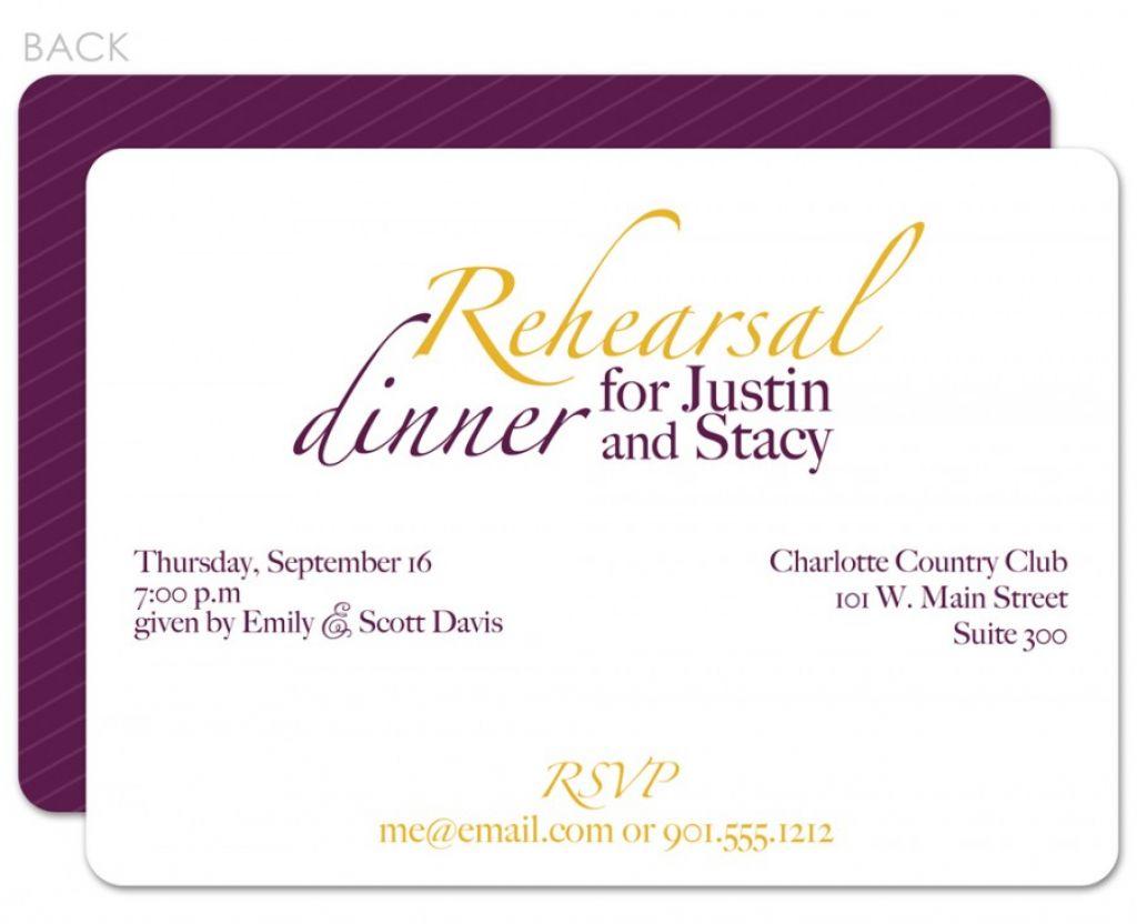 Western Wedding Rehearsal Dinner Invitations