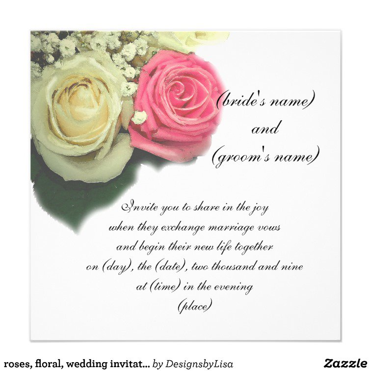 Wilton Invitation Templates Wedding