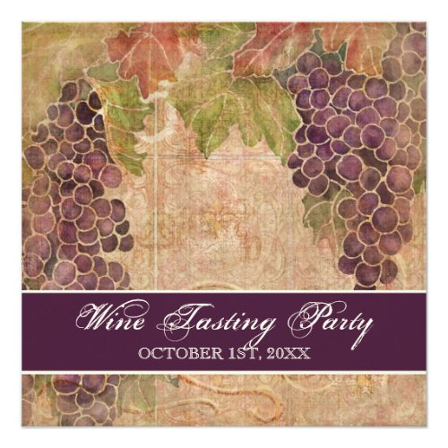 Wine Appreciation Events Invitations