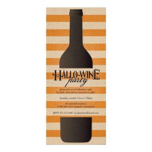 Wine Bottle Invitation Template