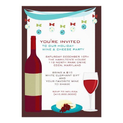 Wine Exchange Invitations