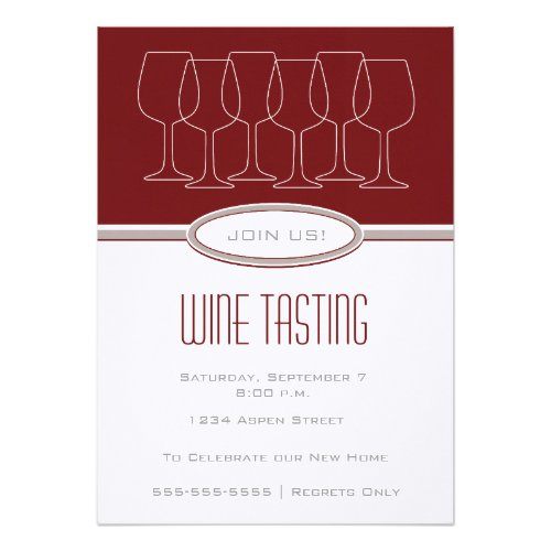 Wine Party Invitations