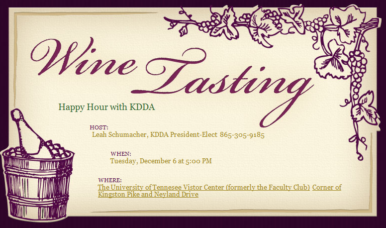 Wine Tasting Event Invitation Template