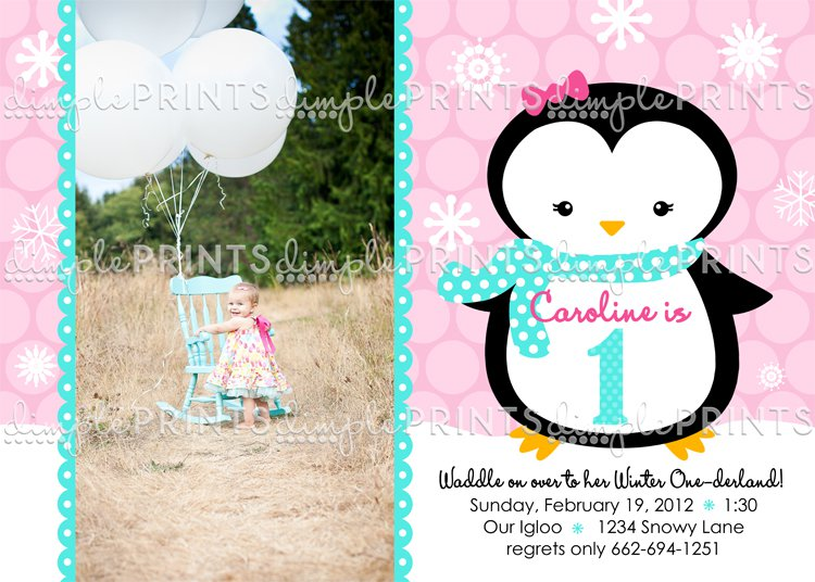 Winter Wonderland Invitation Wording