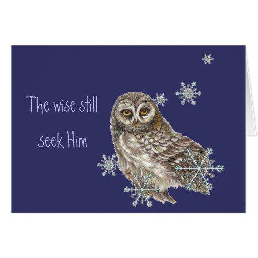Wise Men Still Seek Him Christmas Invitations Templates