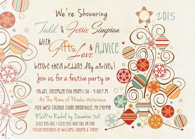 wording for couples baby shower invitations