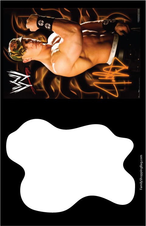Wwe Wrestling Party Invitations