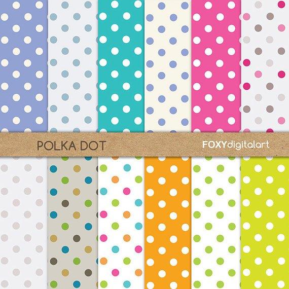 Yellow Polka Dot Invitations