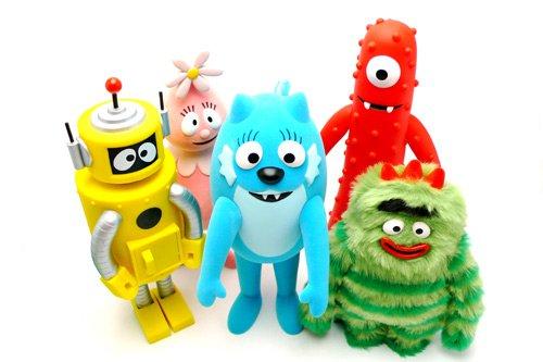 Yo Gabba Gabba Kidrobot Toys
