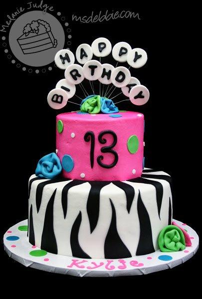 Zebra Birthday Invitations