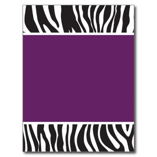 Zebra Print Cardstock For Invitations