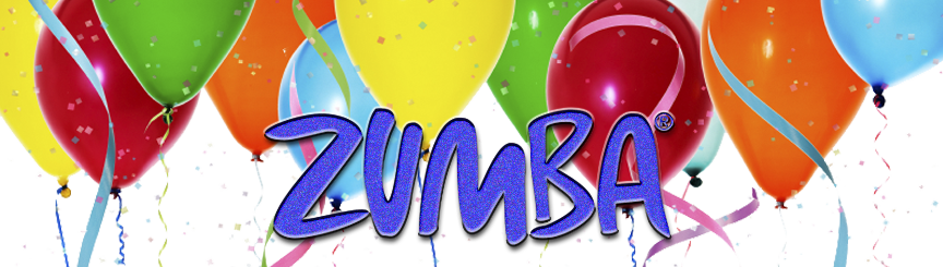 Zumba Birthday Party Invitations